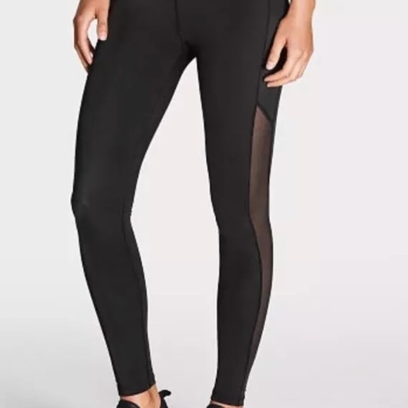 48920ff7160b6 Victoria Sport leggings with Mesh Size Small